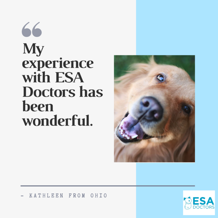 ESA Doctors Legitimate Review By Kathleen
