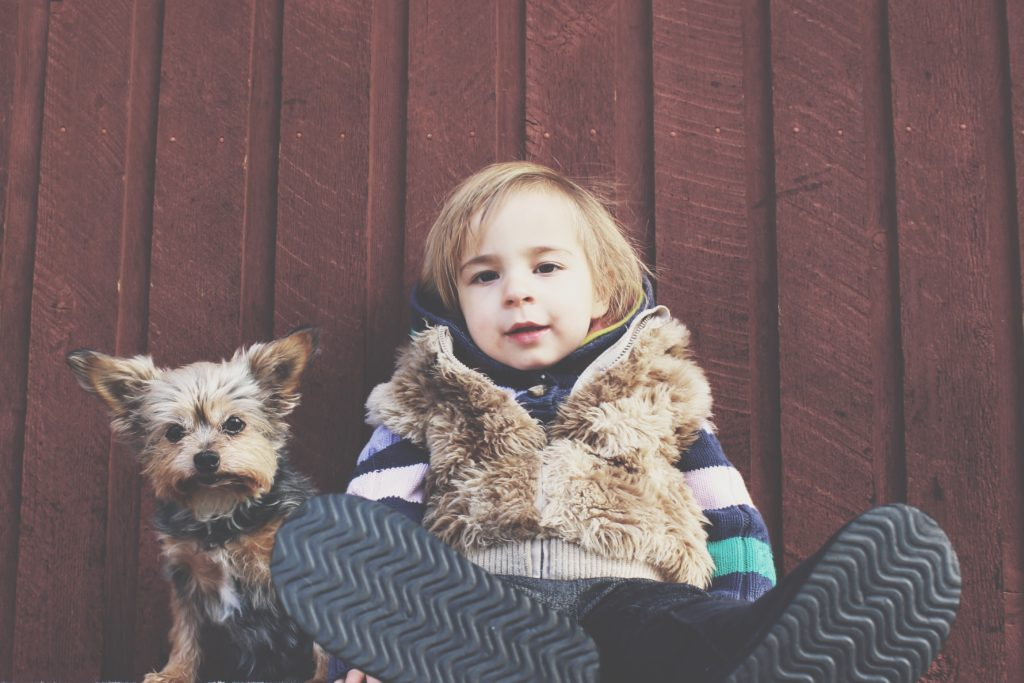 Children with autism can benefit from having an autism service dog.