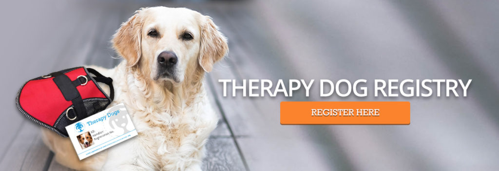 Therapy Dog Registry - Service Dog Certifications